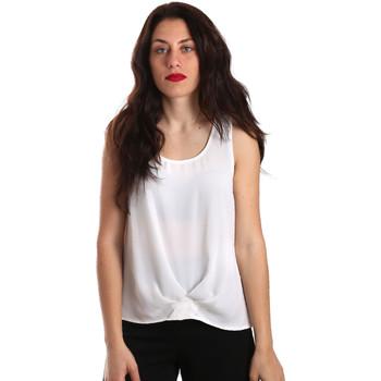 Îmbracaminte Femei Topuri și Bluze Gaudi 911BD45001 Alb