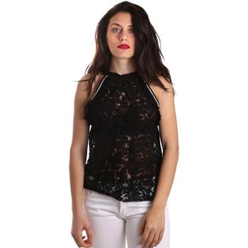 Îmbracaminte Femei Topuri și Bluze Gaudi 911BD45026 Negru