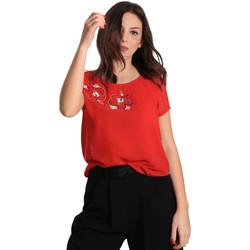 Îmbracaminte Femei Topuri și Bluze Gaudi 811BD45011 Roșu