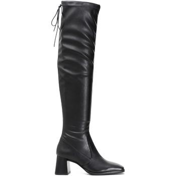 Pantofi Femei Cizme lungi peste genunchi Café Noir LD914 Negru
