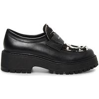 Pantofi Femei Mocasini Steve Madden SMSMALVERNC-BLKWHT Negru