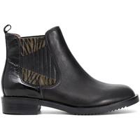Pantofi Femei Ghete Café Noir EB462 Negru