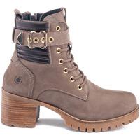 Pantofi Femei Botine Lumberjack SW68501 003 D01 Bej
