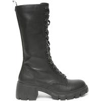 Pantofi Femei Ghete Steve Madden SMSHUMOR-BLK Negru