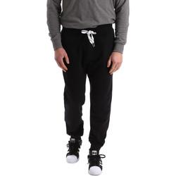 Îmbracaminte Bărbați Pantaloni de trening Key Up 2F37I 0001 Negru