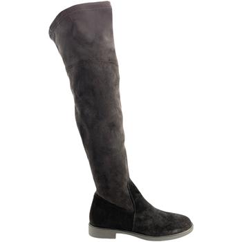 Pantofi Femei Cizme lungi peste genunchi Grunland ST0464 Negru