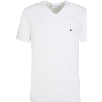 Îmbracaminte Bărbați Tricouri mânecă scurtă Calvin Klein Jeans K10K103672 Alb