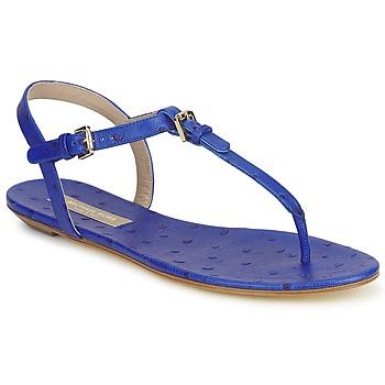 Încăltăminte Femei Sandale și Sandale cu talpă  joasă Michael Kors FOULARD Albastru