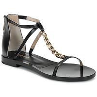 Pantofi Femei Sandale  Michael Kors ECO LUX Negru