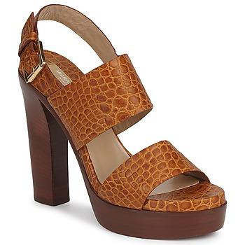 Pantofi Femei Sandale  Michael Kors MATISSE LUX Maro