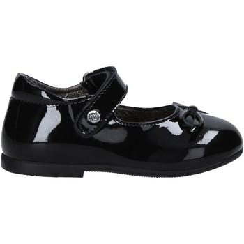 Pantofi Fete Balerin și Balerini cu curea Naturino 2012962 01 Negru