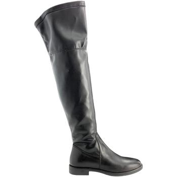 Pantofi Femei Cizme lungi peste genunchi Grunland ST0463 Negru