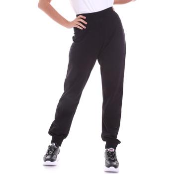 Îmbracaminte Femei Pantaloni  Key Up 5FI47 0001 Negru