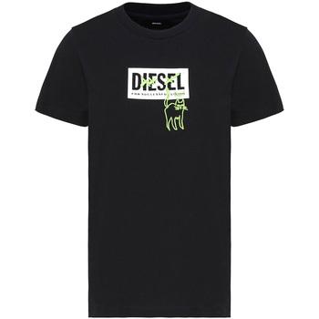 Îmbracaminte Femei Tricouri mânecă scurtă Diesel A00255 0HERA Negru