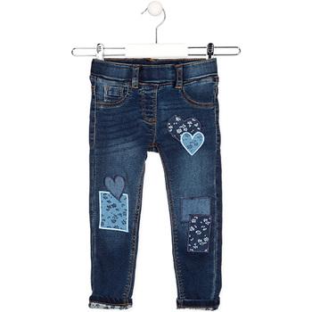 Îmbracaminte Copii Jeans drepti Losan 026-6019AL Albastru