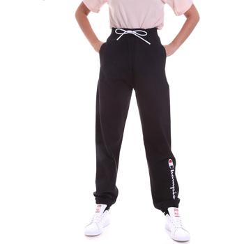 Îmbracaminte Femei Pantaloni de trening Champion 113192 Negru