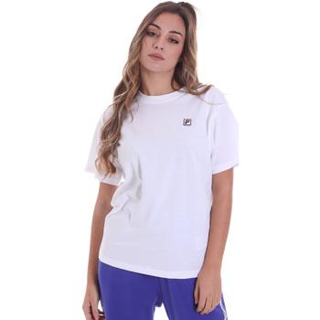 Îmbracaminte Femei Tricouri mânecă scurtă Fila 682319 Alb