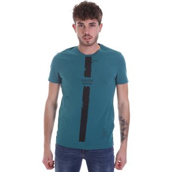 Îmbracaminte Bărbați Tricouri mânecă scurtă Gaudi 021GU64035 Verde