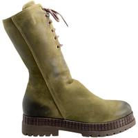 Pantofi Femei Ghete Bueno Shoes 20WM3006 Verde