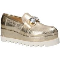 Pantofi Femei Mocasini Grace Shoes 1312 Galben