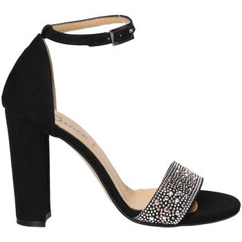 Pantofi Femei Sandale  Grace Shoes 1388 Negru