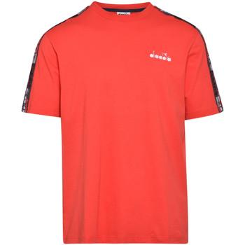 Îmbracaminte Bărbați Tricouri mânecă scurtă Diadora 502176429 Roșu