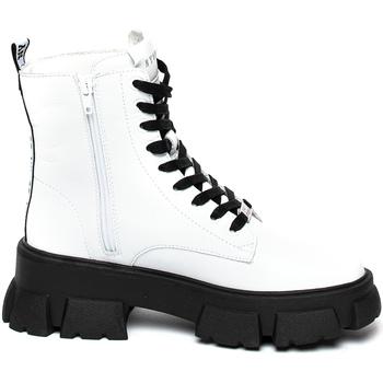 Pantofi Femei Ghete Steve Madden SMSTANKER-WHTLEA Alb