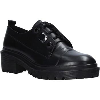 Pantofi Femei Pantofi Derby Apepazza F0COMBAT09/DIA Negru