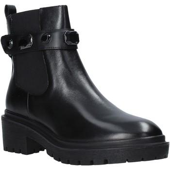 Pantofi Femei Botine Apepazza F0COMBAT08/DIA Negru
