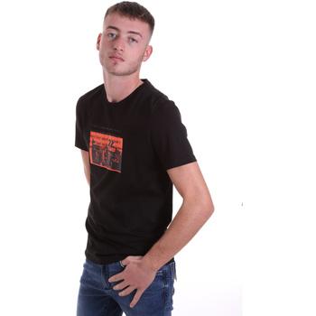 Îmbracaminte Bărbați Tricouri mânecă scurtă Antony Morato MMKS01880 FA100144 Negru