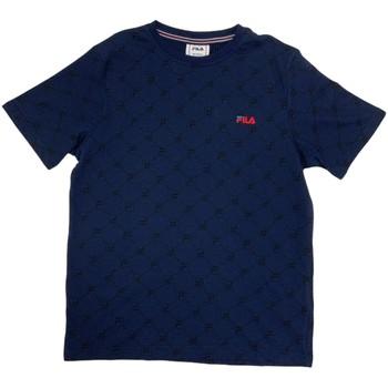 Îmbracaminte Băieți Tricouri mânecă scurtă Fila 688084 Albastru
