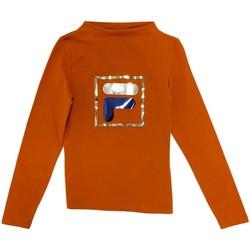 Îmbracaminte Copii Tricouri cu mânecă lungă  Fila 688102 Portocale