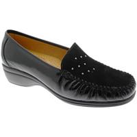 Pantofi Femei Mocasini Calzaturificio Loren LOK4020ne nero