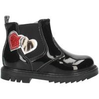 Pantofi Fete Botine Nero Giardini I021503F Black