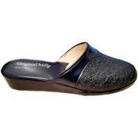 Pantofi Femei Saboti Milly MILLY4200blu blu