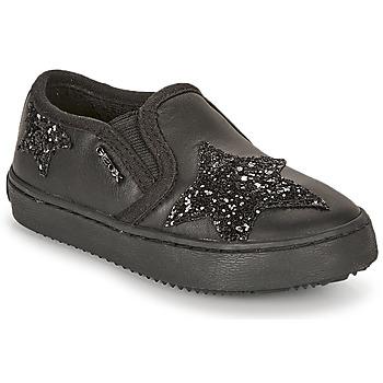 Pantofi Fete Pantofi sport Casual Geox J KALISPERA FILLE Negru