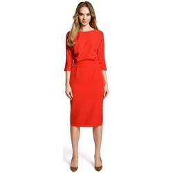 Îmbracaminte Femei Rochii scurte Moe M360 Rochie cu lungime medie și top lejer - roșu