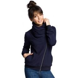 Îmbracaminte Femei Hanorace  Be B071 Hanorac cu fermoar - albastru marin