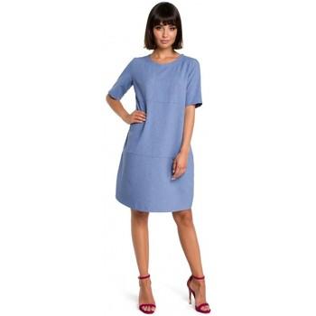 Îmbracaminte Femei Rochii scurte Be B082 Breezy rochie de schimb - albastru