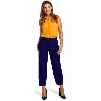 Îmbracaminte Femei Topuri și Bluze Style S172 Cămașă fără mâneci - galben