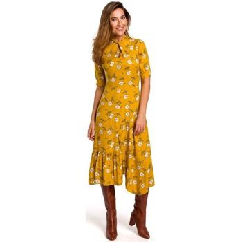 Îmbracaminte Femei Rochii lungi Style S177 Rochie midi cu imprimeu floral - model 1