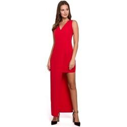Îmbracaminte Femei Rochii Makover K026 Rochie lungă asimetrică - roșu