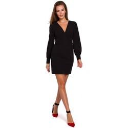 Îmbracaminte Femei Rochii scurte Makover K027 Rochie mini cu mâneci bufante - negru