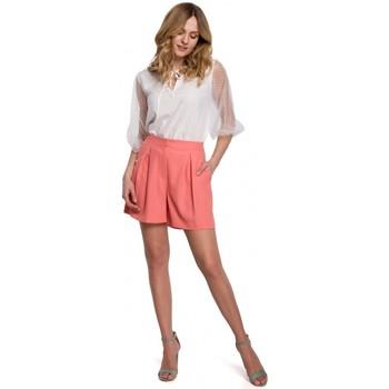 Îmbracaminte Femei Pantaloni scurti și Bermuda Makover K049 Pantaloni scurți relaxați - portocaliu