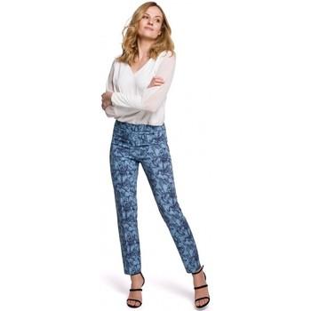 Îmbracaminte Femei Chino & Carrot Makover K053 Pantaloni cu picior subțire cu imprimeu - model 1