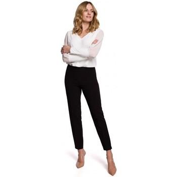Îmbracaminte Femei Chino & Carrot Makover K055 Pantaloni cu picior subțire - negru
