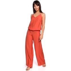 Îmbracaminte Femei Jumpsuit și Salopete Be B155 Salopeta cu picior larg - portocaliu