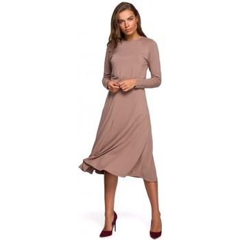 Îmbracaminte Femei Rochii lungi Style S234 Rochie cu croială - capuccino