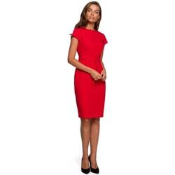 Îmbracaminte Femei Rochii scurte Style S240 Rochie Wrap front - negru