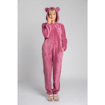 Îmbracaminte Femei Jumpsuit și Salopete Lalupa LA006 Bluză de noapte din tricot pufos - heather
